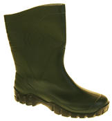 Mens Womens Calf Length Rubber Wellington Work Boots Thumbnail 7