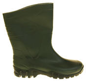 Mens Womens Calf Length Rubber Wellington Work Boots Thumbnail 8