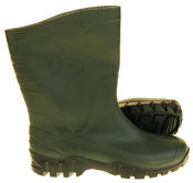 Mens Womens Calf Length Rubber Wellington Work Boots Thumbnail 9
