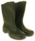 Mens Womens Calf Length Rubber Wellington Work Boots Thumbnail 10