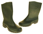 Mens Womens Calf Length Rubber Wellington Work Boots Thumbnail 12