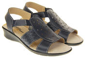 Womens Coolers Premier Leather Slingback Summer Sandals Thumbnail 4