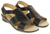 Womens Coolers Premier Leather Slingback Summer Sandals Thumbnail 11