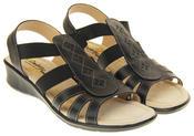 Ladies Coolers Premier Leather Slingback Summer Sandals Thumbnail 4