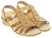 Ladies Coolers Premier Leather Slingback Summer Sandals Thumbnail 8