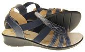 Ladies Coolers Premier Leather Slingback Summer Sandals Thumbnail 10