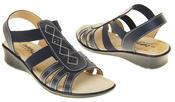 Ladies Coolers Premier Leather Slingback Summer Sandals Thumbnail 12