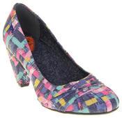 Womens Rocket Dog Medium Heel Fabric Court Shoes Thumbnail 2