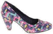 Womens Rocket Dog Medium Heel Fabric Court Shoes Thumbnail 3
