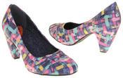 Womens Rocket Dog Medium Heel Fabric Court Shoes Thumbnail 4