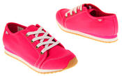 Womens Rocket Dog Pink Canvas Ladies Girls Lace Up Pumps Trainers Thumbnail 6