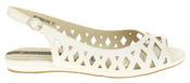 Womens Ladies Elisabeth Leather Designer Peep-Toe Fashion Sandals Thumbnail 3