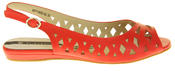 Womens Ladies Elisabeth Leather Designer Peep-Toe Fashion Sandals Thumbnail 5
