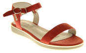 Womens Ladies Keddo Leather Designer Peep-Toe Summer Fashion Sandals Thumbnail 2