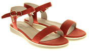 Womens Ladies Keddo Leather Designer Peep-Toe Summer Fashion Sandals Thumbnail 5