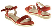 Womens Ladies Keddo Leather Designer Peep-Toe Summer Fashion Sandals Thumbnail 6