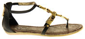Womens Ladies Betsy Synthetic Leather Summer Sandals Thumbnail 3