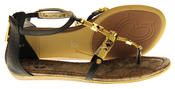 Womens Ladies Betsy Synthetic Leather Summer Sandals Thumbnail 4