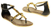 Womens Ladies Betsy Synthetic Leather Summer Sandals Thumbnail 6