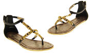 Womens Ladies Betsy Synthetic Leather Summer Sandals Thumbnail 7