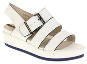 Womens Ladies Designer Betsy Leather Wedges Heels Summer Sandals Thumbnail 2