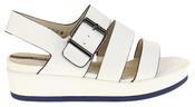 Womens Ladies Designer Betsy Leather Wedges Heels Summer Sandals Thumbnail 3
