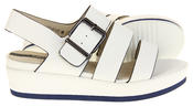 Womens Ladies Designer Betsy Leather Wedges Heels Summer Sandals Thumbnail 4