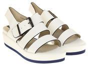 Womens Ladies Designer Betsy Leather Wedges Heels Summer Sandals Thumbnail 5