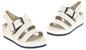 Womens Ladies Designer Betsy Leather Wedges Heels Summer Sandals Thumbnail 7