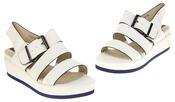 Womens Ladies Designer Betsy Leather Wedges Heels Summer Sandals Thumbnail 7