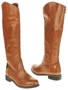 Womens Ladies Betsy Faux Leather Warm Fleece Lined Knee High Boots Thumbnail 11