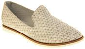Womens Ladies Keddo Leather Casual Shoes Slip On Espadrilles Thumbnail 2