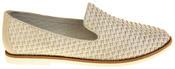 Womens Ladies Keddo Leather Casual Shoes Slip On Espadrilles Thumbnail 3