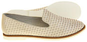 Womens Ladies Keddo Leather Casual Shoes Slip On Espadrilles Thumbnail 4