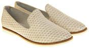 Womens Ladies Keddo Leather Casual Shoes Slip On Espadrilles Thumbnail 5