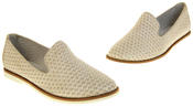 Womens Ladies Keddo Leather Casual Shoes Slip On Espadrilles Thumbnail 7