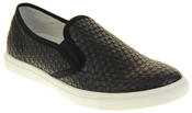 Womens Ladies Keddo Leather Casual Slip On Flat Weave Design Espadrille Pumps Thumbnail 2