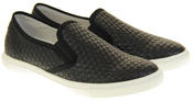 Womens Ladies Keddo Leather Casual Slip On Flat Weave Design Espadrille Pumps Thumbnail 5