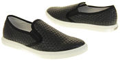 Womens Ladies Keddo Leather Casual Slip On Flat Weave Design Espadrille Pumps Thumbnail 6