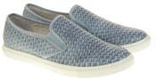 Womens Ladies Keddo Leather Casual Slip On Flat Weave Design Espadrille Pumps Thumbnail 10