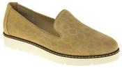 Womens Ladies Keddo Designer Leather Flat Casual Slip On Espadrille Pumps Thumbnail 2