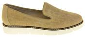Womens Ladies Keddo Designer Leather Flat Casual Slip On Espadrille Pumps Thumbnail 3