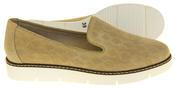 Womens Ladies Keddo Designer Leather Flat Casual Slip On Espadrille Pumps Thumbnail 4