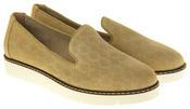 Womens Ladies Keddo Designer Leather Flat Casual Slip On Espadrille Pumps Thumbnail 5