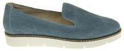 Womens Ladies Keddo Designer Leather Flat Casual Slip On Espadrille Pumps Thumbnail 8