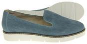 Womens Ladies Keddo Designer Leather Flat Casual Slip On Espadrille Pumps Thumbnail 9