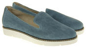 Womens Ladies Keddo Designer Leather Flat Casual Slip On Espadrille Pumps Thumbnail 10