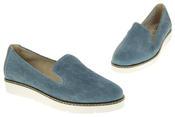 Womens Ladies Keddo Designer Leather Flat Casual Slip On Espadrille Pumps Thumbnail 12