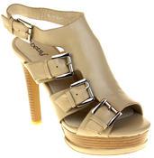 Womens Ladies Platform Heeled Strappy Fashion Sandals High Heel Shoes Thumbnail 2