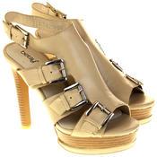 Womens Ladies Platform Heeled Strappy Fashion Sandals High Heel Shoes Thumbnail 5